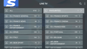 selectv iptv channels