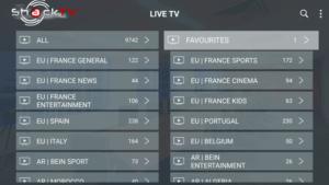 shack tv iptv channels
