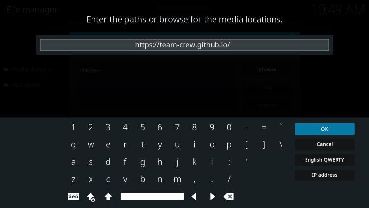 This is the official source of The Crew Sports Kodi Addon.