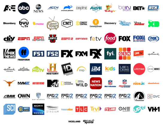 vidgo channels